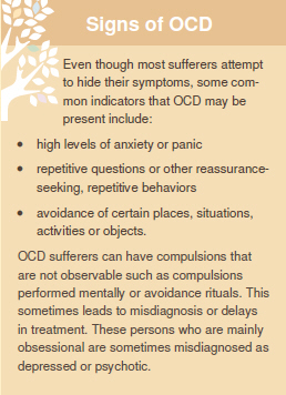 Signs of OCD - Lori Riddle-Walker MFT San Diego CA